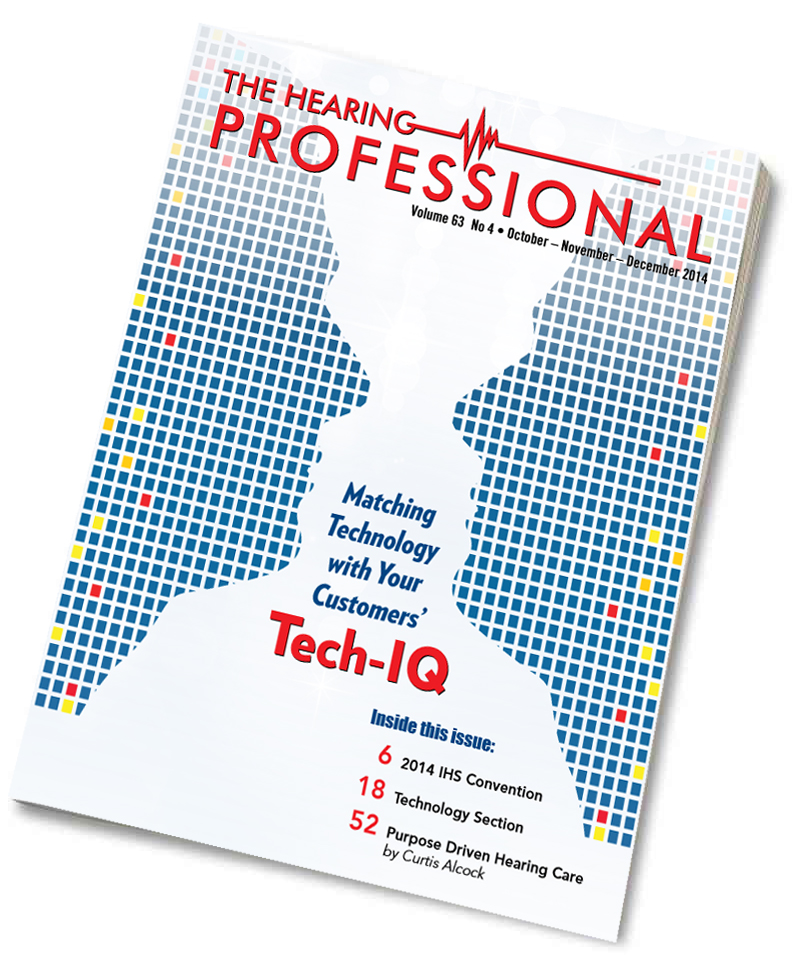 Subscription to The Hearing Professional Magazine: Int'l