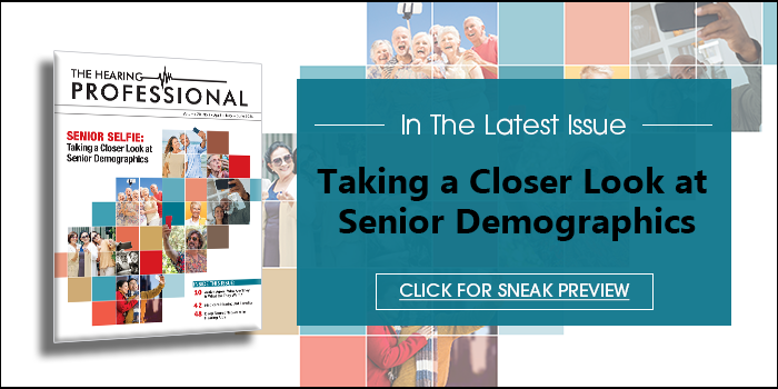 Featured Section - Closer Look at Senior Demographics. Click for Sneak Preview