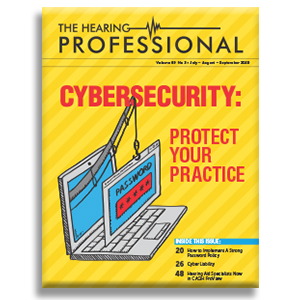 The Hearing Professional magazine